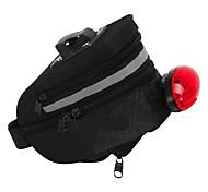 Sports Outdoors Zipper Nylon Bicycle Saddle Bag
