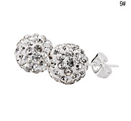 Crystal Ball Stud Earring NO.2(Assorted Color)