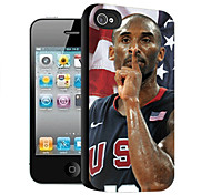Kobe Pattern 3D Effect Case for iPhone4/4S