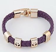 Women's Round Bangles Bracelet Alloy
