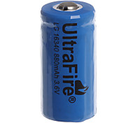 Rechargeable Li-ion Battery Flashlight AX 123A 1200mah 3.6V