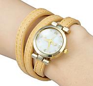Women's Mustache Pattern Leather Band Quartz Analog Bracelet Watch (Assorted Colors) Cool Watches Unique Watches