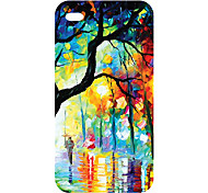 New Technology Hot sell colorful 3D carving cell phone cover case for iphone4/4s 17