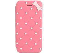Elegant Bowknot Leather Case for iPhone 5/5S(Assorted Color)