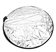Round 5-in-1 Folding Large Flash Reflector Board - 5 Colors (56cm Diameter)