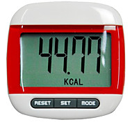 Portable Durable Electronic Calorie Consuming Super Big Screen Pedometer(Assorted Colors)
