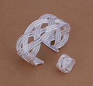 verdes pulseras de cobre anillos lknspcs284 grandes reticulado