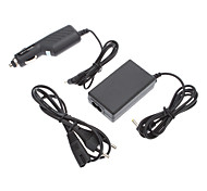 Slim Lite Rapid Car Home Travel Wall AC Charger AV Cable for Sony PSP 2000 2001