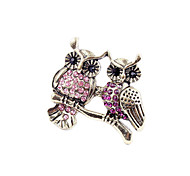 Double Owl Ring Ring Europe Exaggerated Retro Jewelry R23