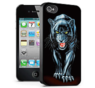 Wolf Pattern 3D Effect Case for iPhone4/4S
