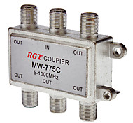 1 to 5 Coaxial TV Cable TAP Direction Coupler (5-1000Mhz)