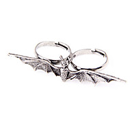 Europe And Selling Jewelry Punk Style Retro Bat Ring Ring