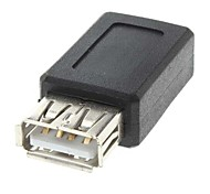 USB A Female to Mini USB Female Adapter Converter