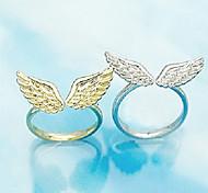 Angel Wings Open Ring