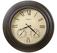 """H12"""" Country Style Metal Wall Clock"""