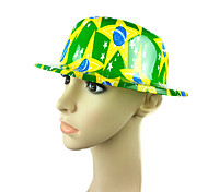 Brazil's national flag hat