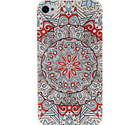Red National Style Abstract Geometric Seamless Pattern Plastic Hard Case for iPhone 4/4S