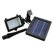 Outdoor Energia Solar 30 LED automático de Segurança Flood Luz Jardim Waterproof