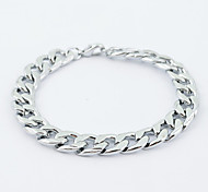 Punk Stainless Steel Link Chain Bracelet