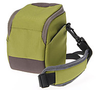 B-01-GN Green Crossbody One-Shoulder Camera Bag for DSLR Camera