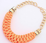 Fluorescent Candy Color Necklace