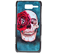 For Motorola Case Pattern Case Back Cover Case Skull Hard PC Motorola