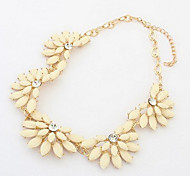 Petals Acrylic Short Necklace