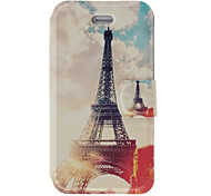 Fragrant Smell Retro Tower Pattern Full Body Case with Matte Back Cover and Stand for iPhone 4/4S
