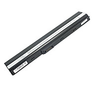 5200mah Replacement Laptop Battery for Asus K52 X8C X67 X5I X42 P62 P82 PRO5I PR067 PR08C P42 - Black
