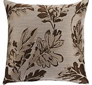 "18 ""Platz Traditionelle Golden Leaf Polyester Dekorative Kissenbezug"