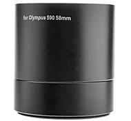 MASSA 58mm Digital Camera Lens Filter Adapter Tube de Olympus SP590