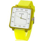 7035G-5 Silica Мода Досуг кварцевые часы