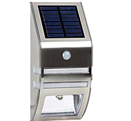 Solar White Wall Light With PIR Motion Sensor