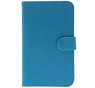 Pano textura padrão Bolsas protetive com slot para cartão para Samsung Tab 7.0 P3200 3