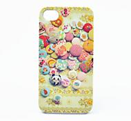 Botón de impresión de nuevo caso para el iPhone 4/4S