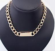 Fashion Alloy Chain Women's Necklace