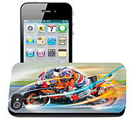 Motorcycle Pattern 3D Effect Case for iPhone5