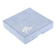 Square Floral Paper Bracelet Box