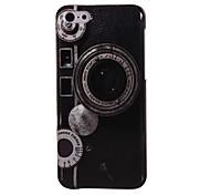 rétro cas dur de l'appareil photo pour iphone 5c