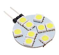 LED Spot Lampen G4 100-150 LM 5500-6500 K 9 SMD 5050 Kühles Weiß AC 12 V