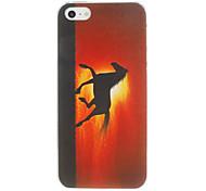 Runing Pferd Pattern PC Hard Case für iPhone 5/5S