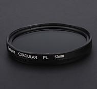 52mm Filtro CPL para Canon Nikon Lens