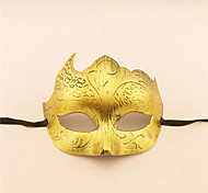 2 Colors Flame Shape Men's PVC Halloween Mask