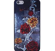 Pivoine Retour Case pour iPhone 5/5S Bloom