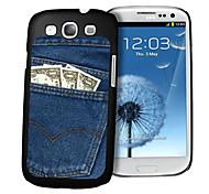 Jeans-Muster 3D-Effekt für Samsung s3 i9300