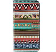 Motif Case odeur parfumée ethnique Full Body avec mat de couverture arrière et support pour iPhone 5/5S