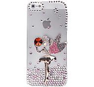 Satellite Angel Jewelry Überdachte zurück Fall für iPhone 5/5S