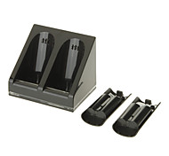 Dual Charger Dock Station with 2 Battery for Wii