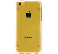 Solid Color Special Designed Transparent Hard Case with Glow in the Dark for iPhone 5C(Assorted Colors)
