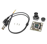 "CCTV 700TVL 1/4"" CMOS 8510 Chip Board with 6mm Lens for Security Camera"